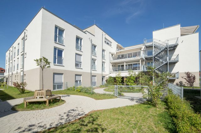 Sandhausen, new construction enior citizens housing estate