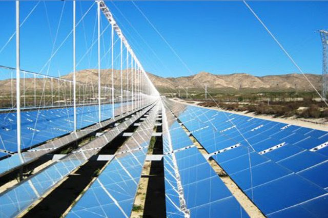 Look back: construction of the solar thermal energy large power plant in Spain
