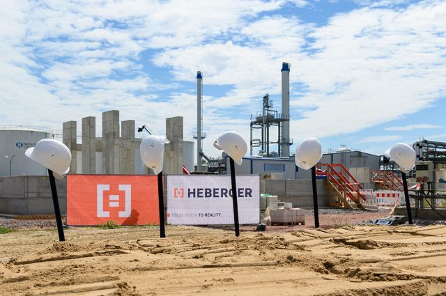 Ground-breaking ceremony for a hydrogenation plant in Speyer