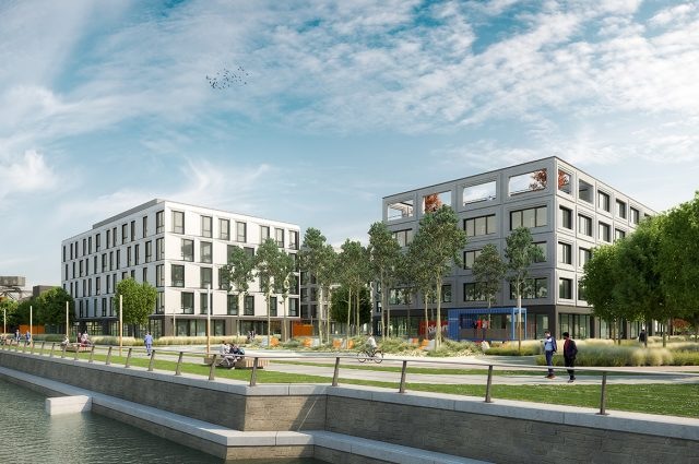 HEBERGER develops office campus in Offenbach