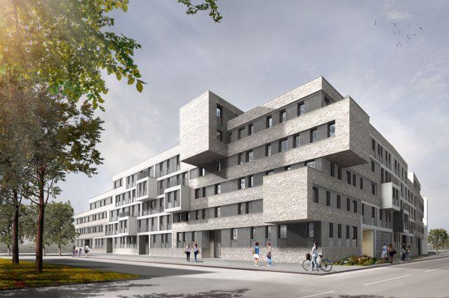 Speyer, Neubau Wohnquartier Loopside